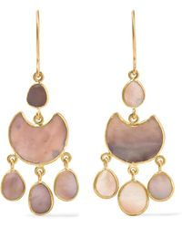 Pippa Small - 18-karat Gold Shell Earrings - Lyst