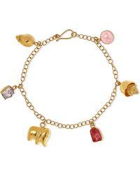 Pippa Small - 18-karat Gold Spinel Bracelet - Lyst