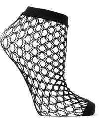 Falke - Gil Fishnet Socks - Lyst
