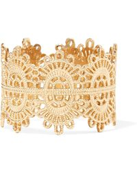 Grace Lee - Lace 14-karat Gold Ring - Lyst