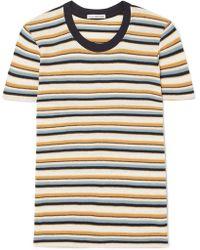 James Perse - Vintage Boy Striped Cotton-blend Jersey T-shirt - Lyst