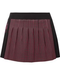 Fendi - Karlito Polka-dot Stretch Tennis Skirt - Lyst