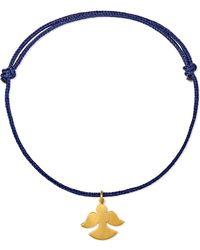 Marie-hélène De Taillac - Angel 18-karat Gold Bracelet - Lyst