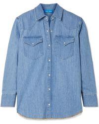 M.i.h Jeans - Denim Shirt - Lyst