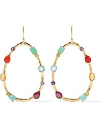 Ippolita - Rock Candy 18-karat Gold Multi-stone Earrings - Lyst