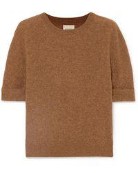 Khaite - Lydia Cashmere-blend Sweater - Lyst