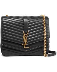 Saint Laurent - Sulpice Medium Quilted Leather Shoulder Bag - Lyst df6def1040058