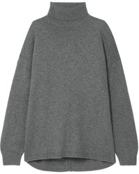 Tibi - Oversized Cashmere Turtleneck Sweater - Lyst