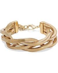 Rosantica - Gold-tone Bracelet Gold One Size - Lyst