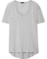 ATM - Cotton-blend Jersey T-shirt - Lyst