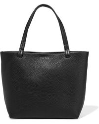 The Row - Park Small Textured-leather Tote - Lyst
