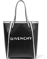 bd9ecc7673 Lyst - Givenchy Stargate Bambi Small Shopper Bag in Black