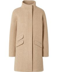 J.Crew - Cocoon Wool-blend Coat - Lyst