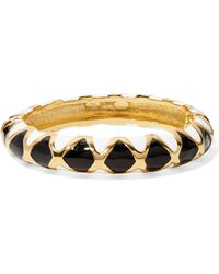 Kenneth Jay Lane - Gold-plated And Enamel Bracelet - Lyst