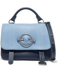 JW Anderson - Disc Two-tone Leather Shoulder Bag - Lyst