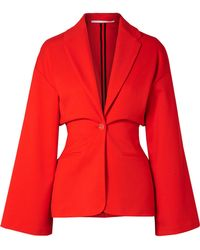 Rosetta Getty - Stretch-cady Blazer - Lyst