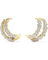 Ana Khouri - Simplicity 18-karat Gold Diamond Earrings Gold One Size - Lyst