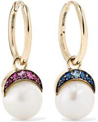 Noor Fares - Mala 18-karat Gold Multi-stone Earrings - Lyst
