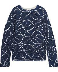 Equipment - Sloane Intarsia Cashmere Sweater - Lyst