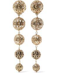 Rosantica - Innocenza Gold-tone Clip Earrings Gold One Size - Lyst
