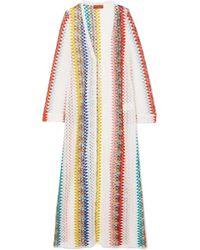 Missoni - Mare Donna Crochet-knit Robe - Lyst