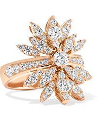 Stephen Webster - + Hearts On Fire White Kites 18-karat Rose Gold Diamond Ring - Lyst