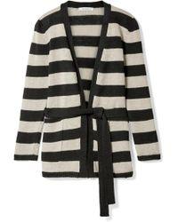 Max Mara - Alea Striped Linen Cardigan - Lyst