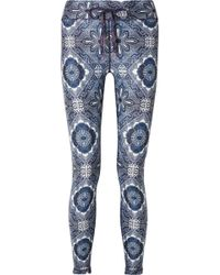 The Upside - Frill Printed Stretch Leggings - Lyst