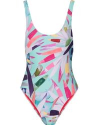 Mara Hoffman - Marimba Printed Swimsuit - Lyst