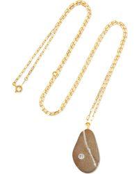 CVC Stones - Laurence Of Arabia 18-karat Gold, Stone And Diamond Necklace - Lyst