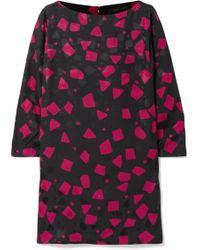 Marc Jacobs - Printed Crepe-jacquard Mini Dress - Lyst