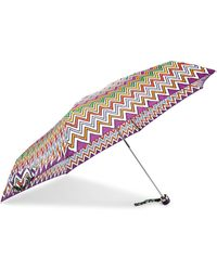 Missoni - Parapluie En Tissu Imperméable Imprimé Supermini - Lyst