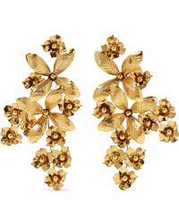 Jennifer Behr - Gold-tone Earrings - Lyst