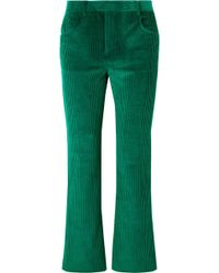 Isabel Marant - Mereo Cotton-corduroy Straight-leg Pants - Lyst