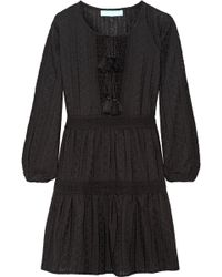 Melissa Odabash - Reid Lace-trimmed Crocheted Cotton Coverup - Lyst