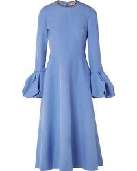 ROKSANDA - Aylin Crepe Midi Dress - Lyst