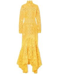 Costarellos - Guipure Lace Gown - Lyst