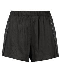 Hanro - Liane Lace-trimmed Gauze Pyjama Shorts - Lyst