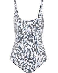 Marios Schwab - Gialos Leopard-print Swimsuit - Lyst