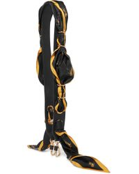 Chloé - Leather And Silk-twill Bag Strap - Lyst
