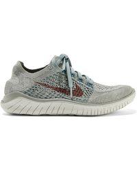 daa6c711c887 Lyst - Nike Zoom Fly Betrue Mesh Sneakers in White