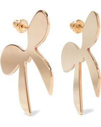 Simone Rocha - Gold-plated Earrings - Lyst