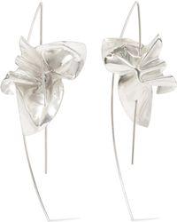 Closer by Wwake - Lancet Silver Earrings - Lyst