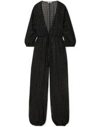 Eres - Gordon Fil Coupé Silk-blend Chiffon Jumpsuit - Lyst