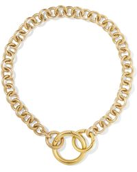 Laura Lombardi - Fede Gold-tone Necklace - Lyst