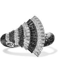De Grisogono - Ventaglio 18-karat White Gold Diamond Bracelet White Gold One Size - Lyst