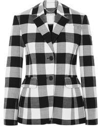 Altuzarra - Fenice Gingham Wool-blend Twill Blazer - Lyst
