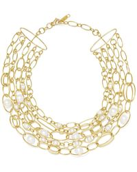 Ippolita - 18-karat Gold Pearl Necklace - Lyst