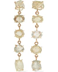 Melissa Joy Manning - 14-karat Gold Sapphire Earrings - Lyst
