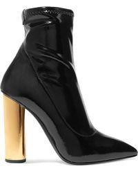 Giuseppe Zanotti - Crudelia Patent-leather Ankle Boots - Lyst